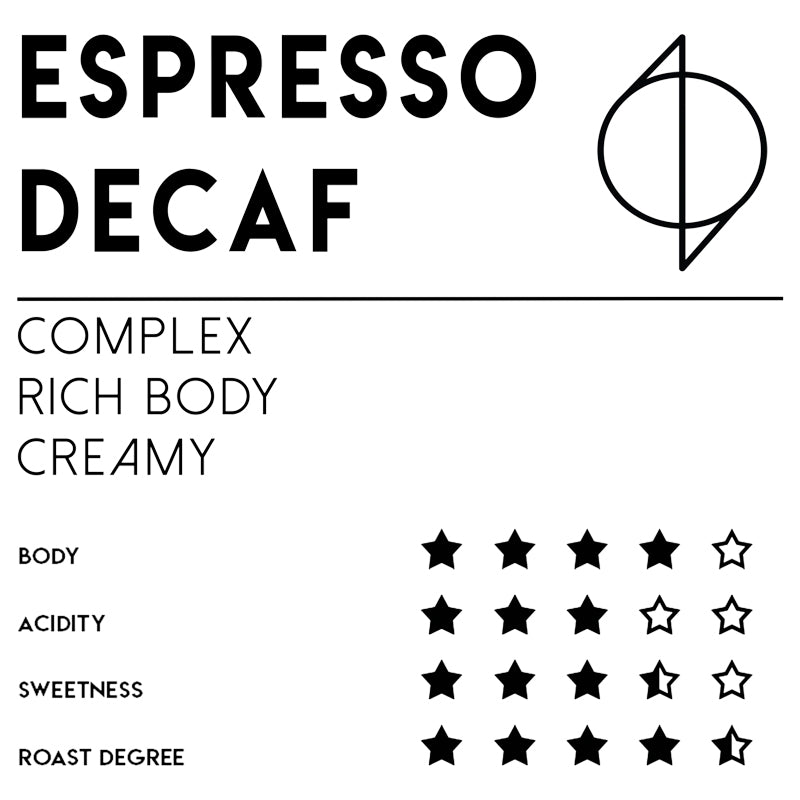 Meebz Coffee Espresso - Decaf