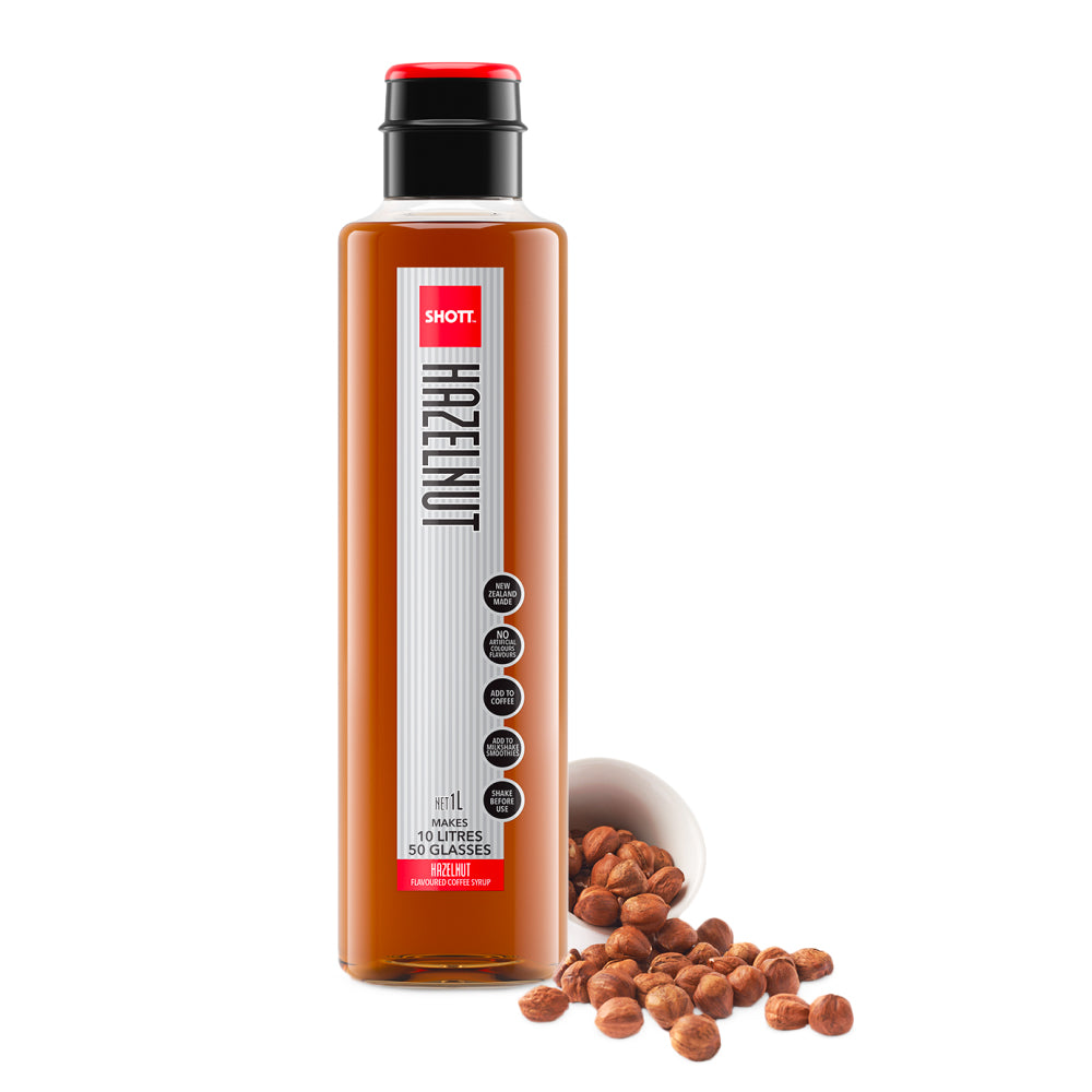 Shott Coffee Syrup 1 Litre - Hazelnut