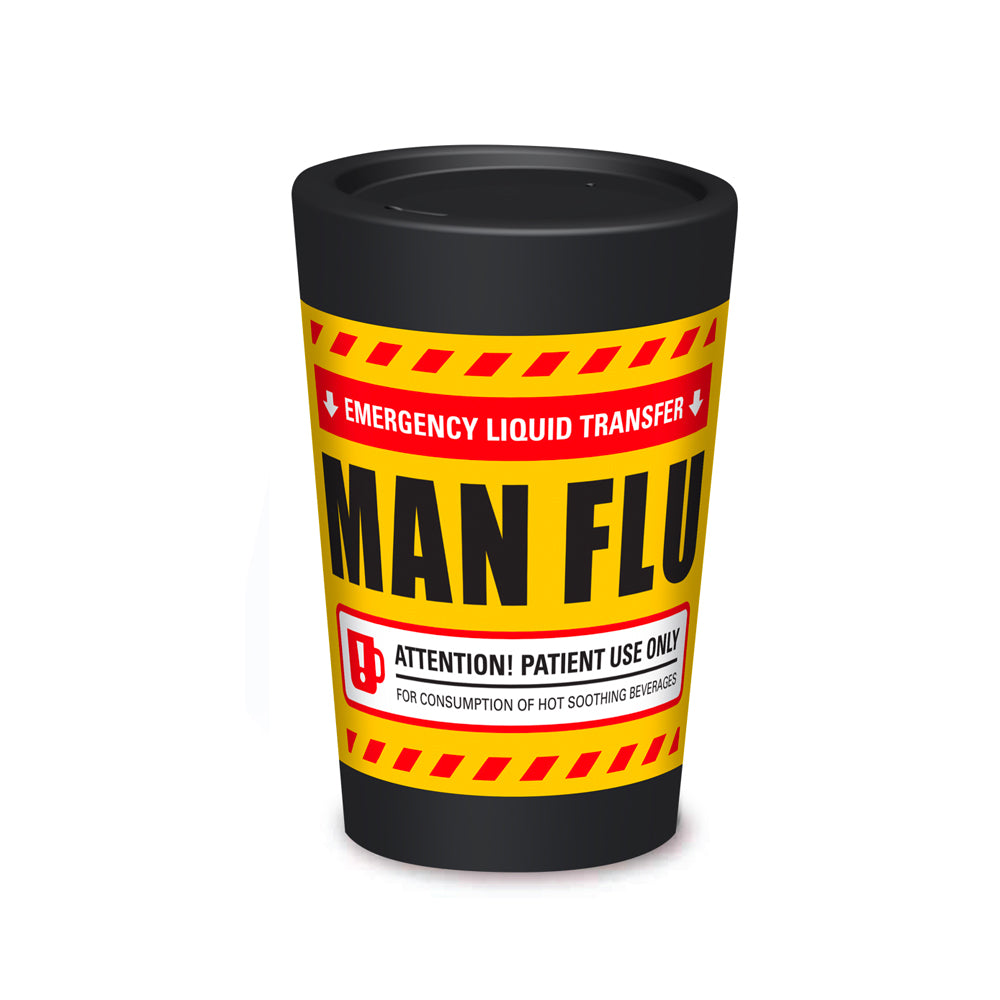 Cuppa Coffee Cup 12oz - Man Flu