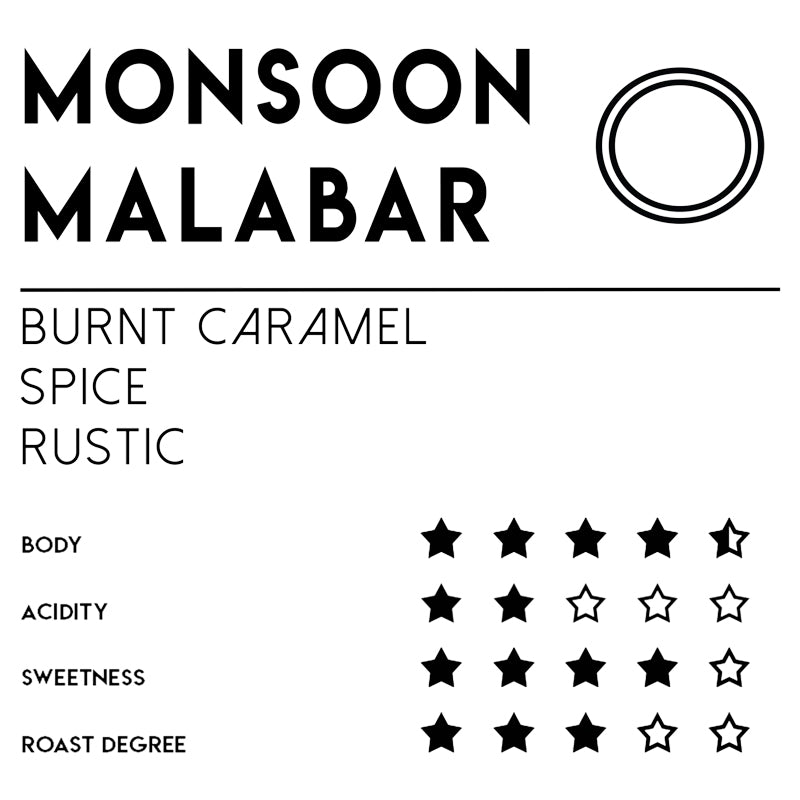 Meebz Single Origin Coffee Monsoon Malabar