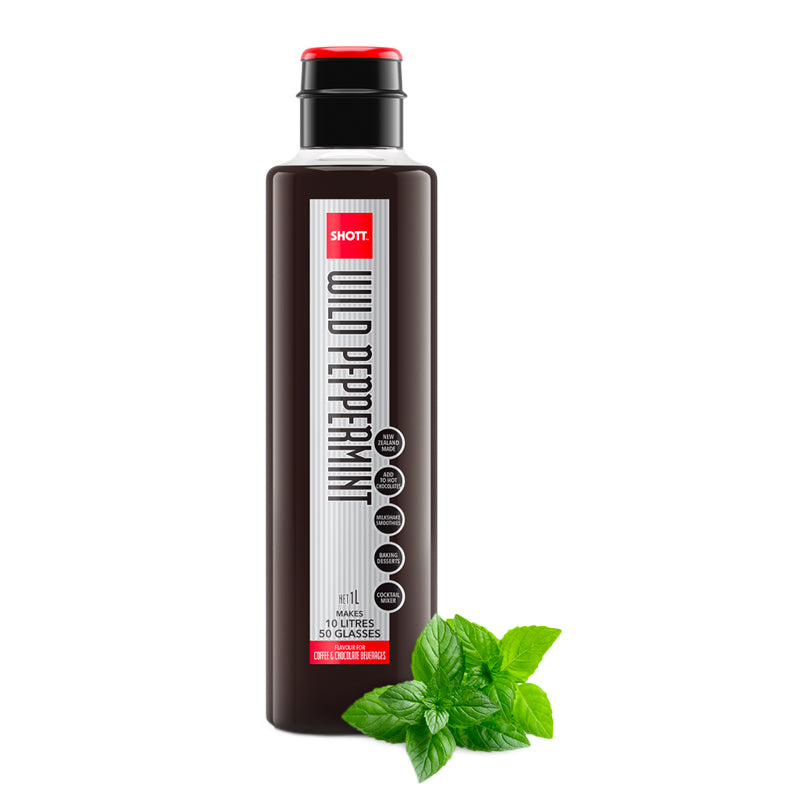 Shott Coffee Syrup 1 Litre - Wild Peppermint