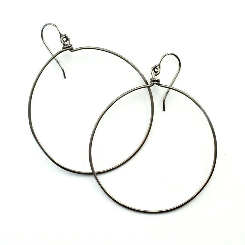 Artisan Hoop Earrings