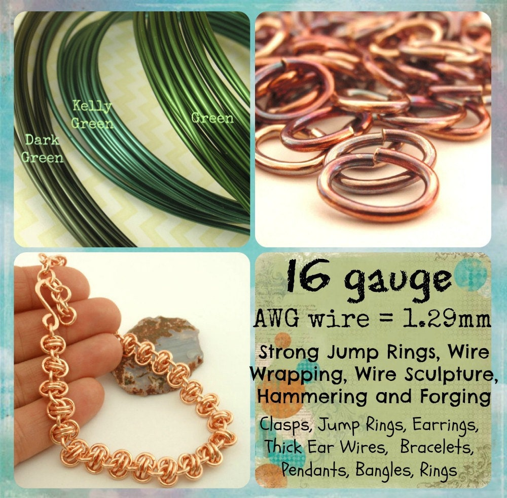 Vintage Bronze Wire  - Enameled Coated Copper - 100% Guarantee - YOU Pick the Gauge 16, 18, 20, 21, 22, 24, 26, 28, 30, 32