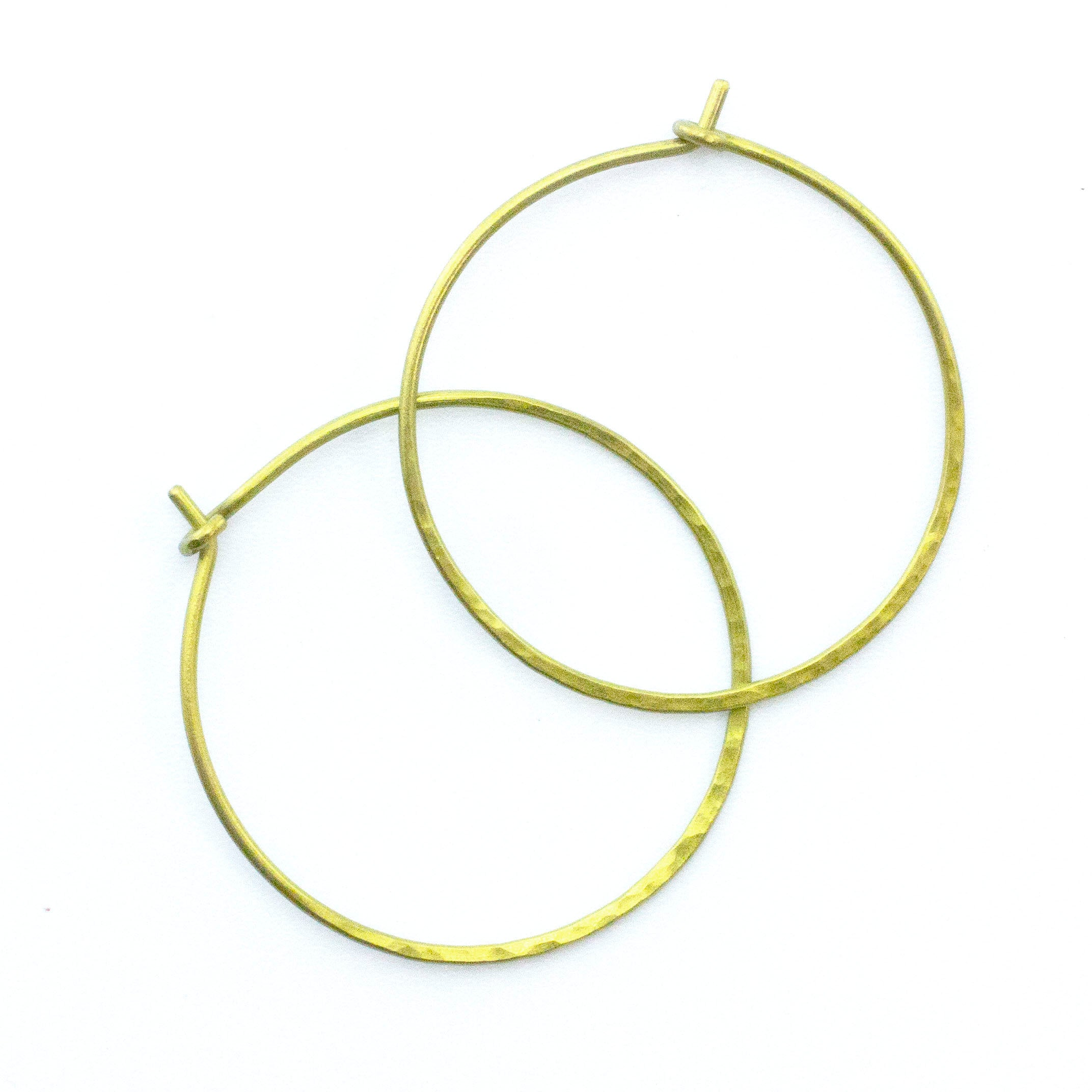 50 GOLD PLATED EAR HOOK WIRES Rich Pale Yellow or Honey GOLD Earwires 18mm Ball