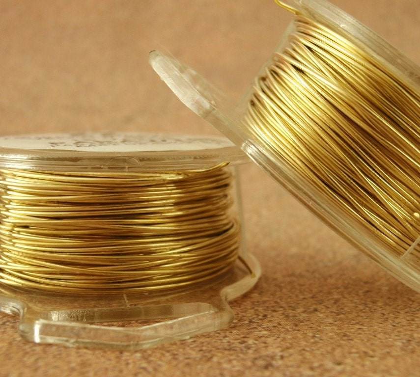 Raw Yellow Brass Wire - 100% Guarantee - You Pick Gauge - 4, 6, 8, 10, 12, 14, 16, 18, 20, 21, 22, 24, 26, 28, 30, 32