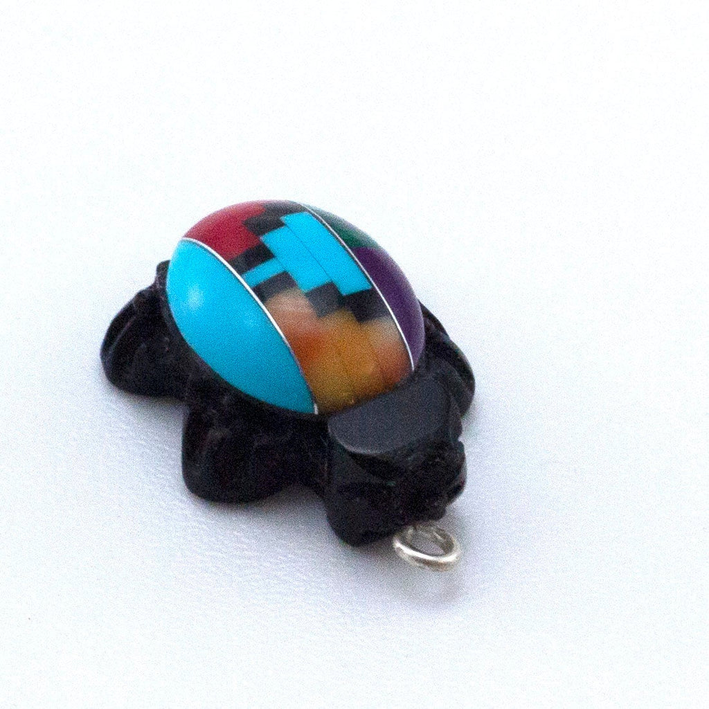 So Cute Turtle - 19mm X 13mm Multicolored Charm