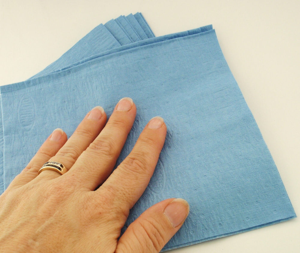 3 Dupont Lint Free Cloths - Perfect for Cleaning, Applying Wax and Polishing - Reusable