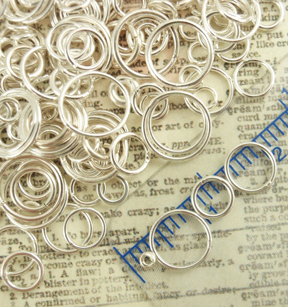 Sterling Silver Soldered Closed Jump Rings - Great Catch Rings - 100% Guarantee