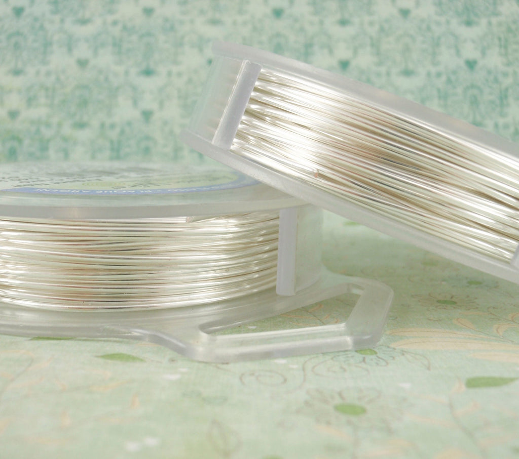 Non Tarnish Silver Plated Artistic Wire - Permanently Colored - Pick Gauge 10, 12, 14, 16, 18, 20, 22, 24, 26, 28, 30, 32 - 100% Guarantee