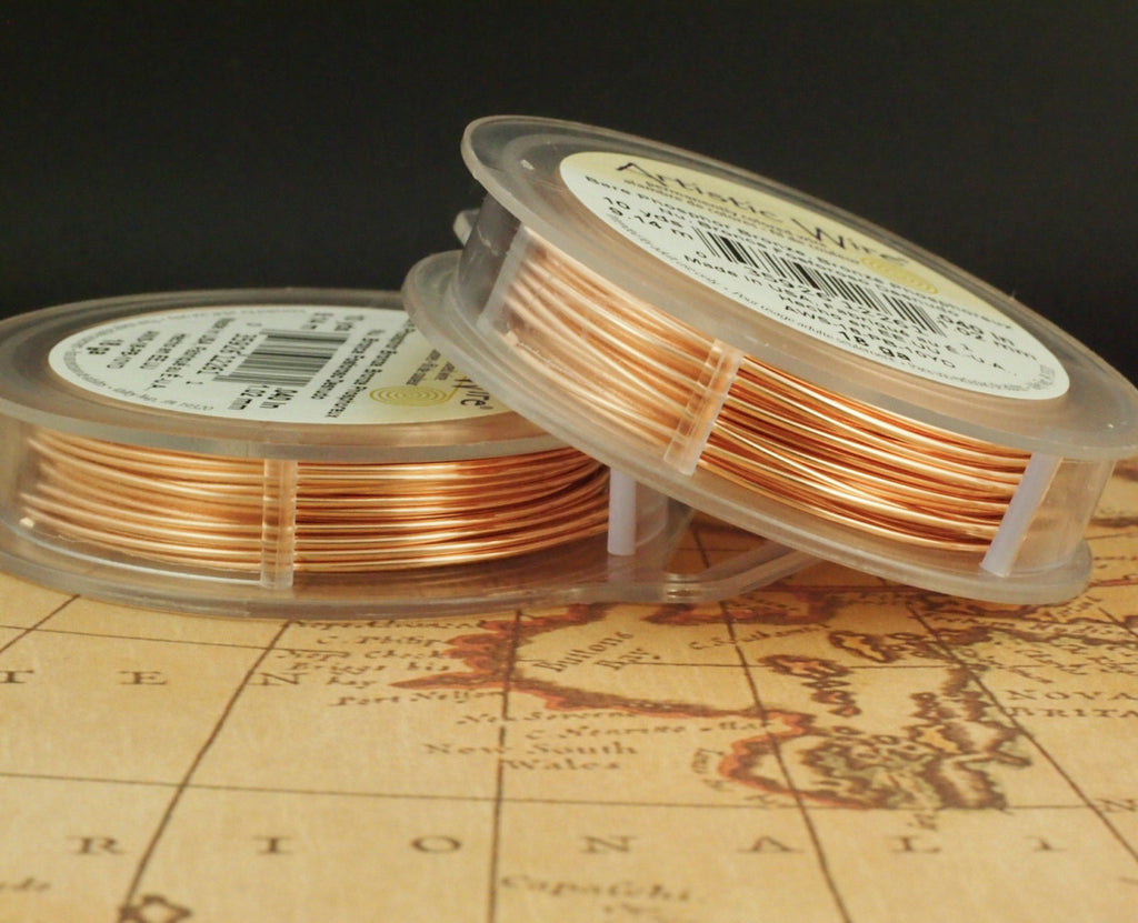 Bare Phosphor Bronze Artistic Wire - Solid Metal - 100% Guarantee - 18, 20, 22, 24, 26, 28 Gauge