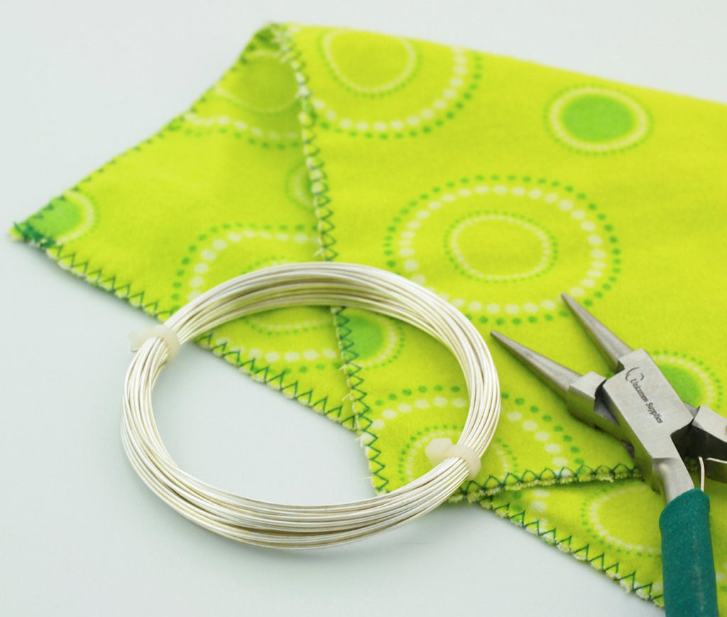 Wire Working Cloth - Essential For Conditioning Wire - Free Wire Sample Included - 100% Guarantee