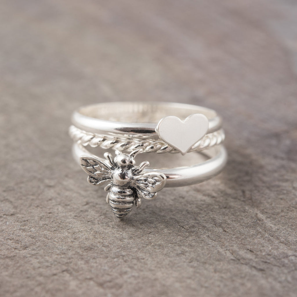Sterling Silver Honey Bee