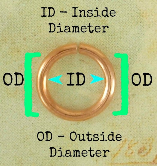 100 Economical Gold Plated Jump Rings - Special Purchase in 17, 18, 20, 21, 22, 24 gauge - 100% Guarantee