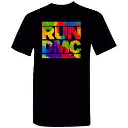 RUN DMC Watercolor Logo Tee