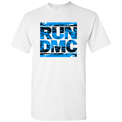 RUN DMC Blue Acrylic Tee