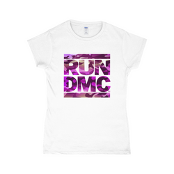 RUN DMC Pink Camo Women's Tee