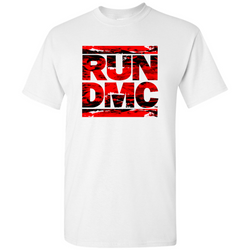 RUN DMC Red Acrylic Logo Tee