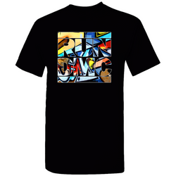 RUN DMC Graffiti Logo Tee