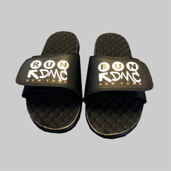 Black Slides - RUN DMC NYC Edition