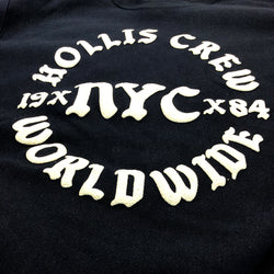 Navy Crewneck - Hollis Worldwide Edition