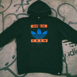 HOLLIS CREW x Adidas Graphic Black Hoodie