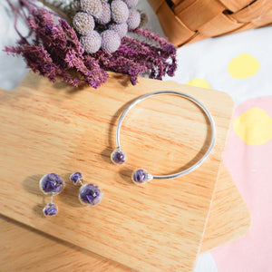 Forget me not earring / Bracelet