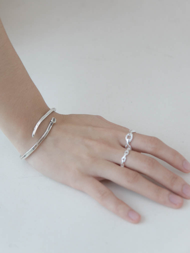 Mini french style chain ring