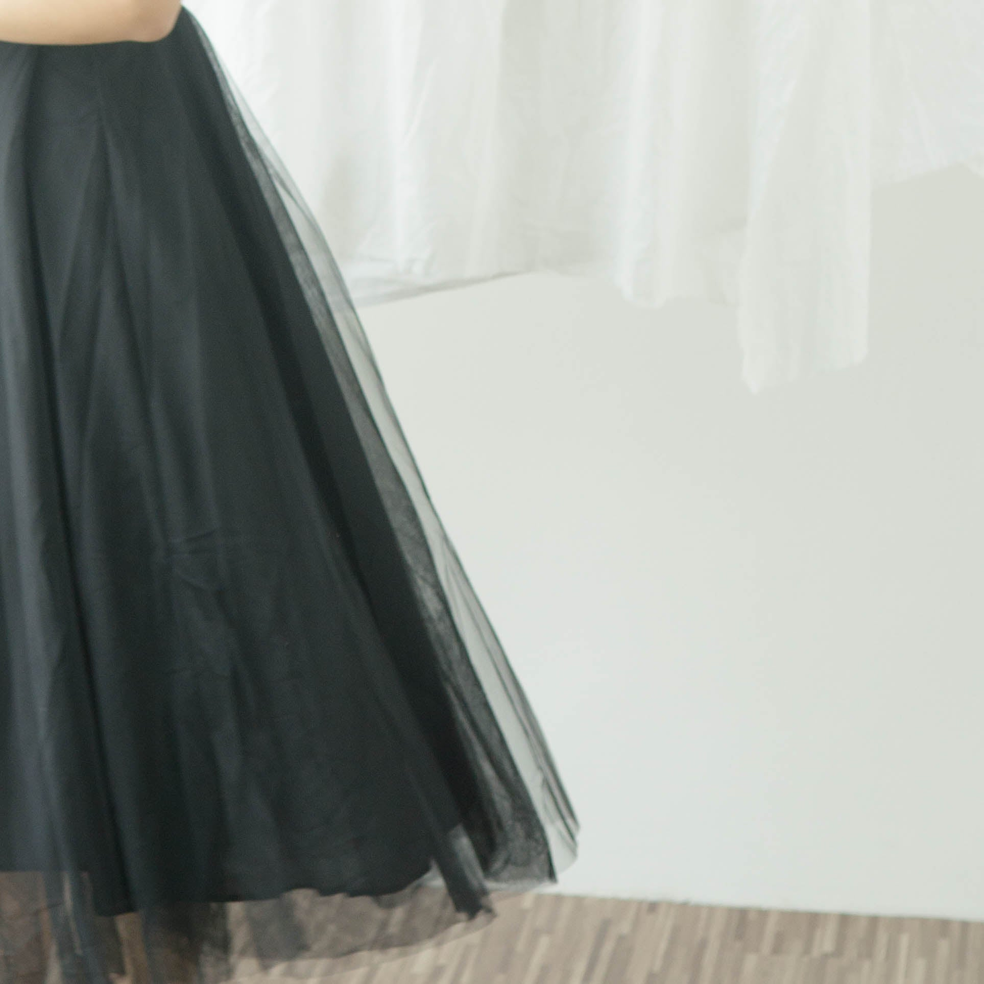 French retro skirt