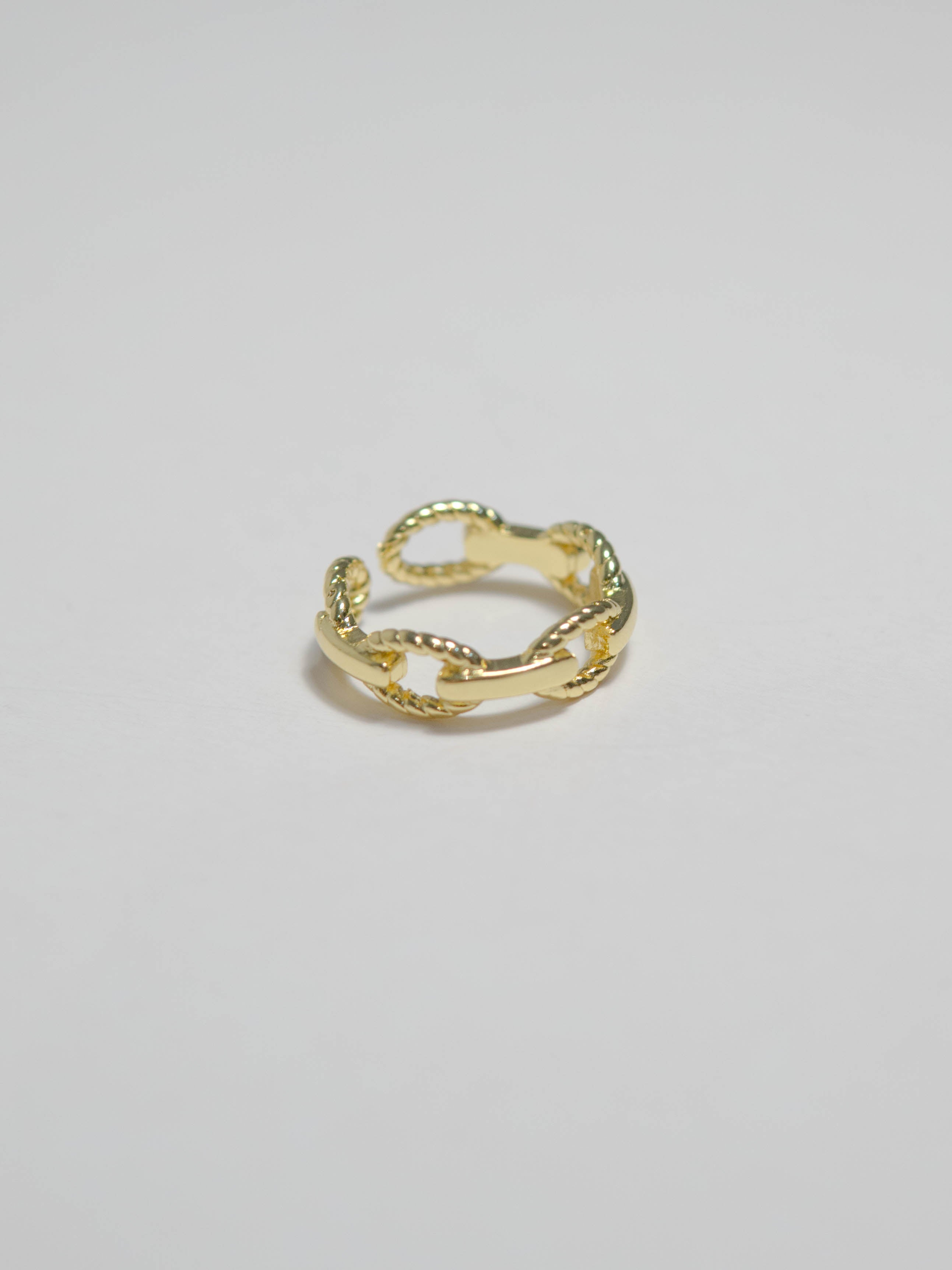 French style chain ring