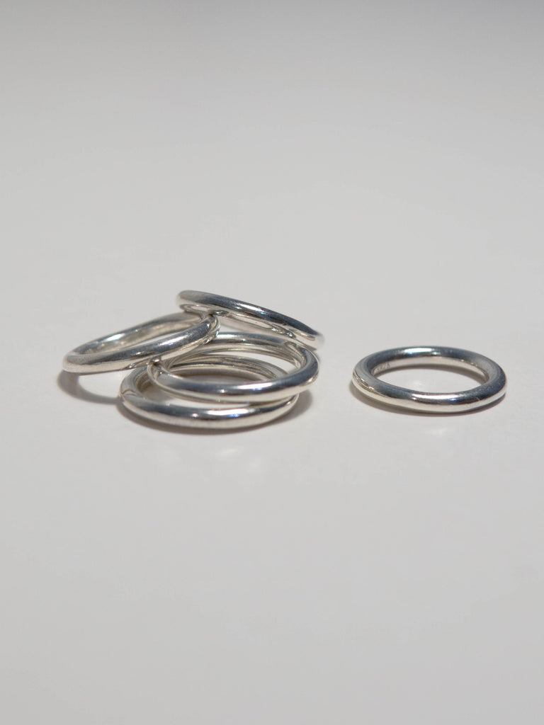 Simple line thin ring (3mm)