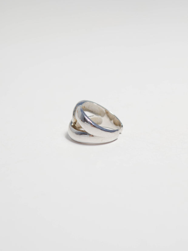 Minimalist cross ring