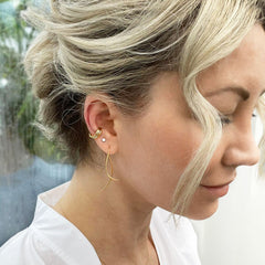 The Alkemistry 18ct yellow gold comfort ear cuff