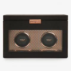 WOLF Axis double watch winder - Copper