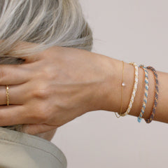 The Alkemistry 18ct gold Kumachi bracelet