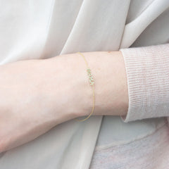 Zoe Chicco 14ct gold 'Mama' bracelet