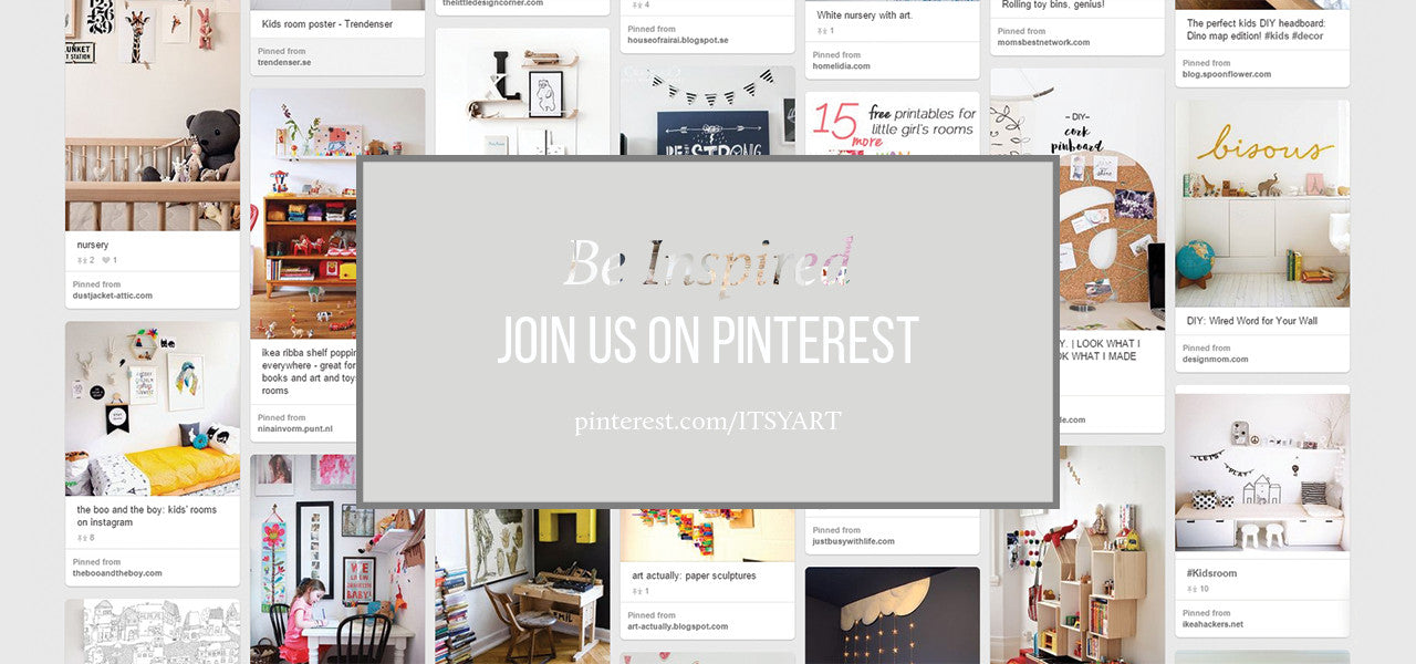 ITSY ART on Pinterest