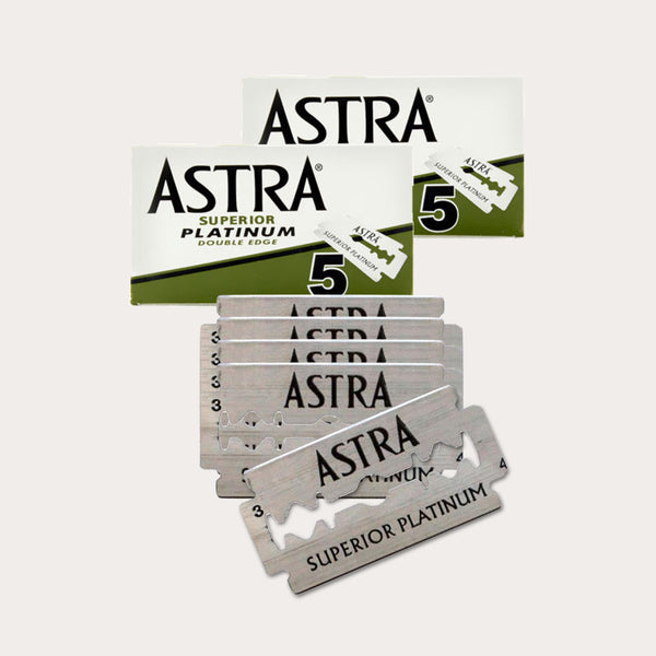 Barberblade til Safety Razor - Astra Superior - 10 stk.