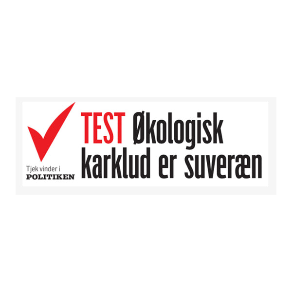 The Organic Company karklud/vaskeklud - Evening grey - TESTvinder