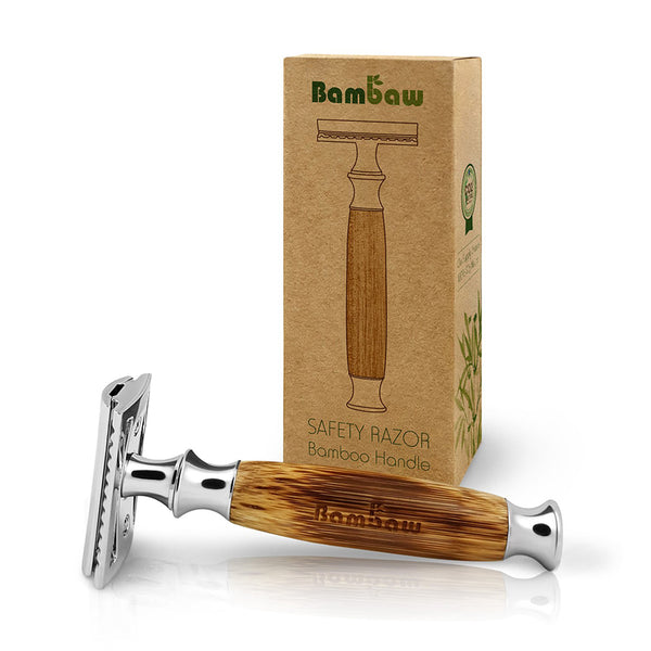 Safety Razor - Traditionel model med bambus håndtag