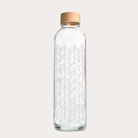 Drikkeflaske i glas - STRUCTURE OF LIFE - 700 ml