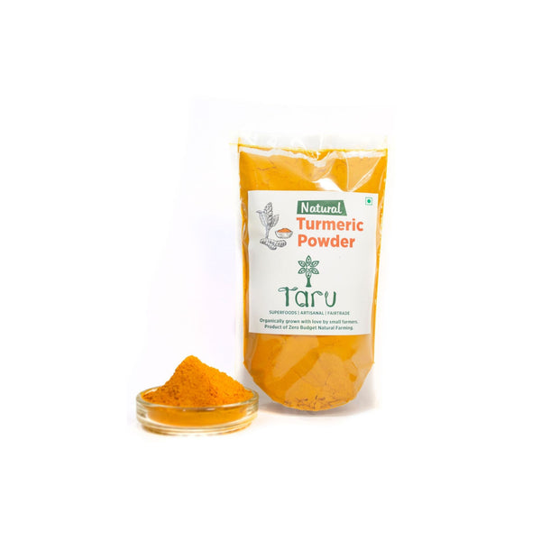 Handpounded Turmeric Powder (With Natural Oils) : 250 g