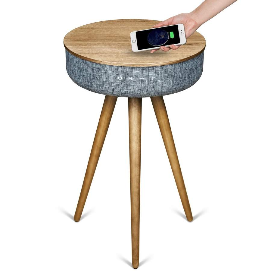 The Uber Multimedia Smart Table With Bluetooth Speakers
