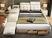 The Ultimate Bed Enclosure System Integrated With Massage Chair (Super Luxe)