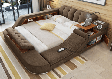 The Ultimate Bed Enclosure System Integrated with Massage chair (luxe)