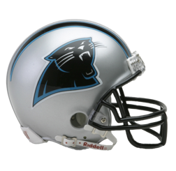Carolina Panthers Mini VSR4 Helmet
