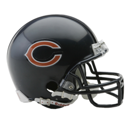 Chicago Bears Mini VSR4 Helmet
