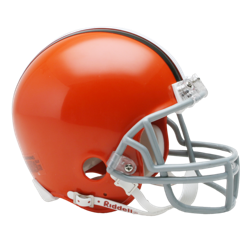 Cleveland Browns Mini VSR4 Helmet
