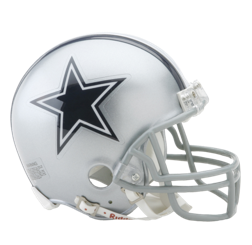 Dallas Cowboys Mini VSR4 Helmet