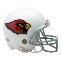 Arizona Cardinals Mini VSR4 Helmet