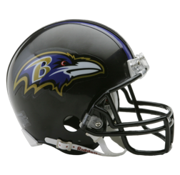 Baltimore Ravens Mini VSR4 Helmet